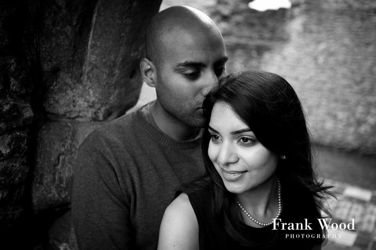 Dudley Priory Engagement Photography: Tina & Nitish