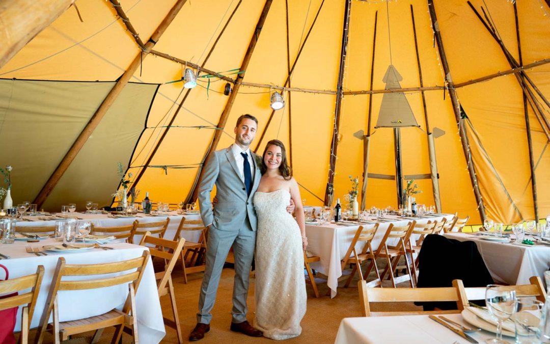 Talton House Tipi Wedding