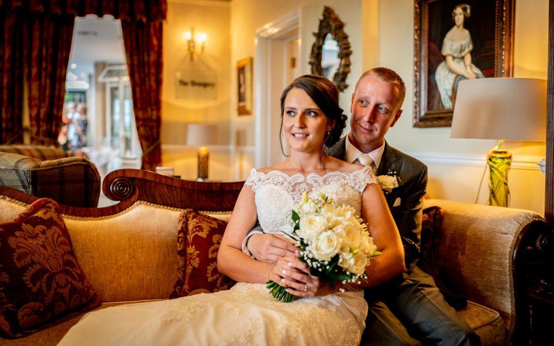 Nuthurst Grange Wedding Photos: Louise & Andrew