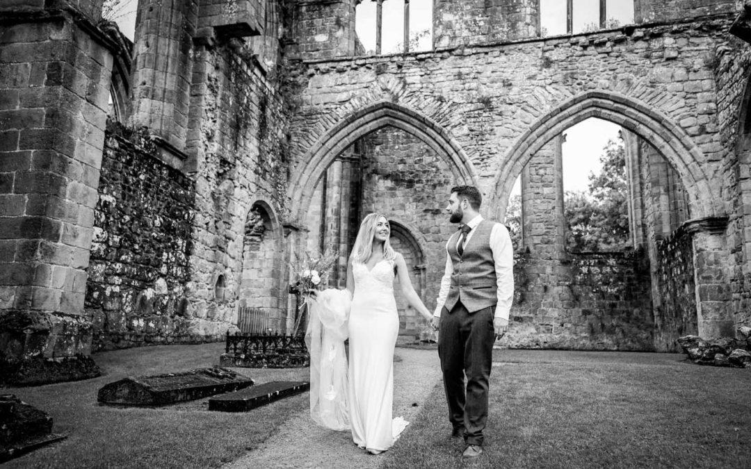 The Tithe Barn Bolton Abbey Wedding Photos: Jess & Mark