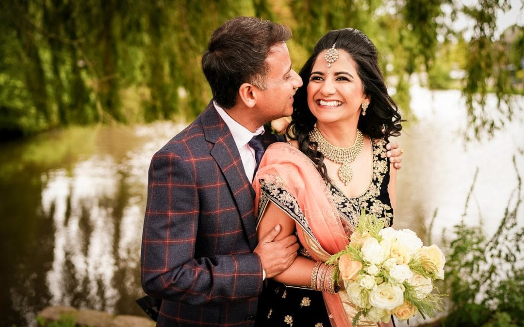 Manor Hotel Meriden Wedding Photographs: Shital & Wrishi