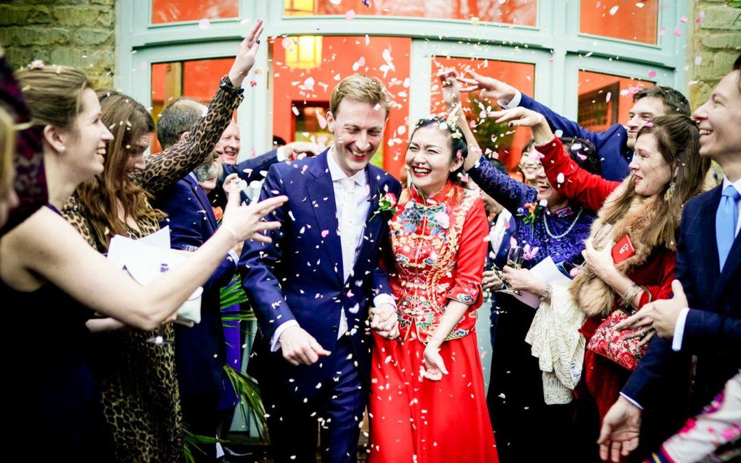 Matara Centre Gloucestershire Wedding Photos: Lucia & John