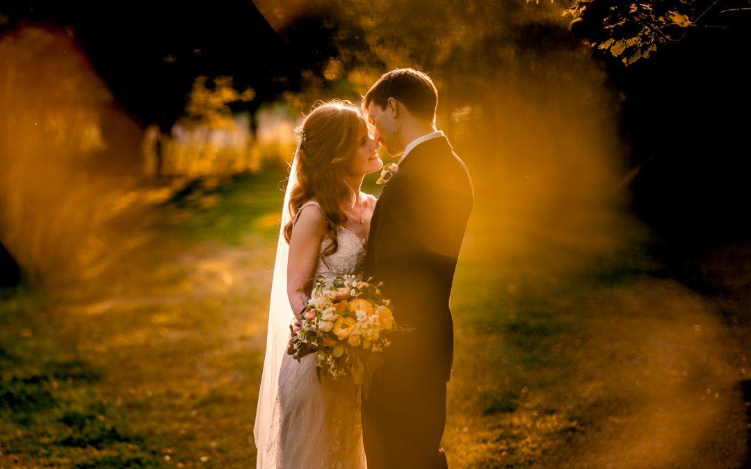 Gorcott Hall Warwickshire Wedding Photographs: Sarah & Joe