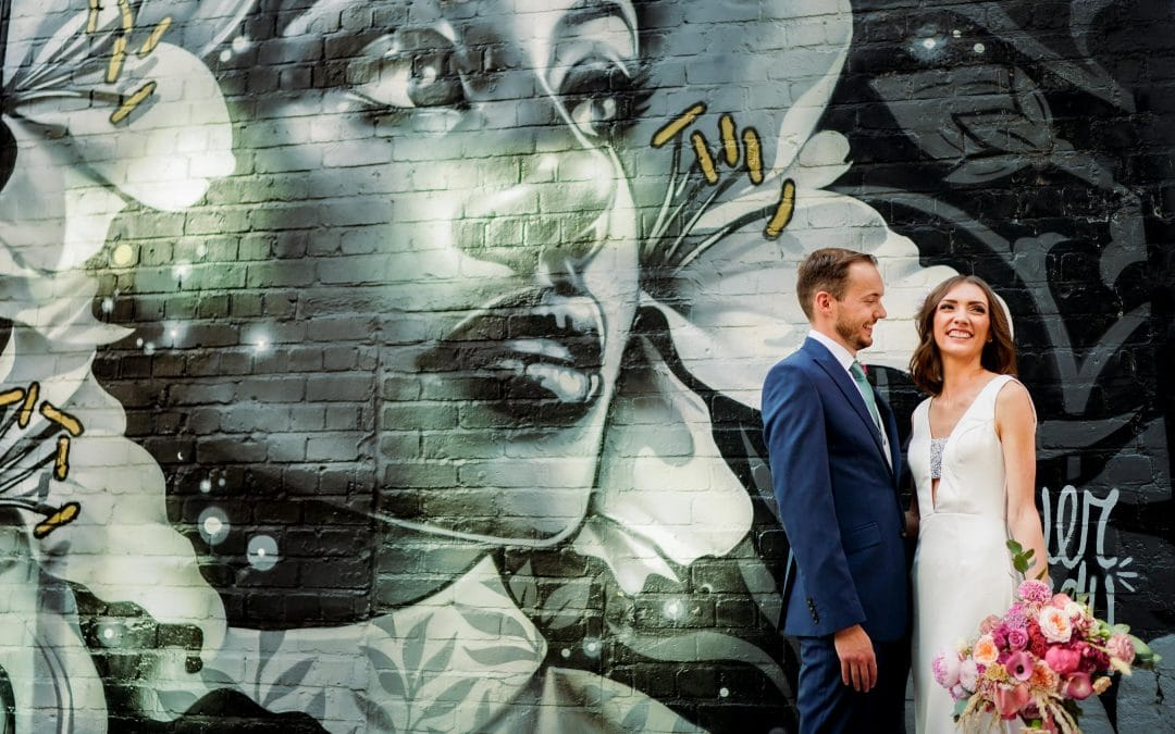 Old Library Digbeth Birmingham Wedding Photography – Anna & Phil
