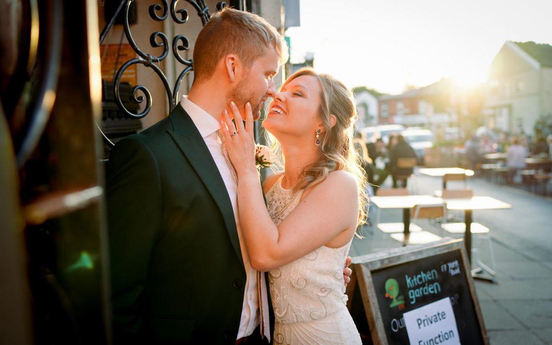 St Alphege Solihull & Kitchen Garden Cafe Wedding Photography: Catherine & James